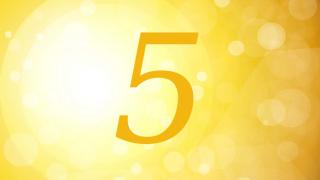 【数秘術】誕生数(ライフパスナンバー)5の資質や才能は?仕事・お金・恋愛・注意点