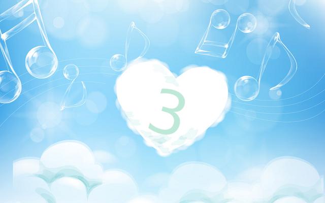 ハート数3(ソウルナンバー3)の意味は楽観性と創造性【数秘術】