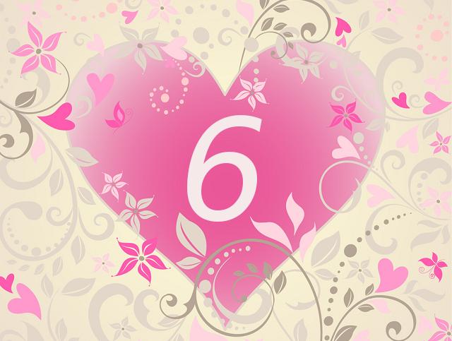 ハート数6(ソウルナンバー6)の意味は愛溢れる人【数秘術】